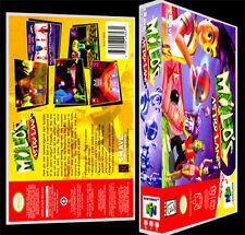 Milo's Astro Lanes   - N64 Reproduction Art Case/Box No Game.