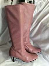 DUNE Ladies Leather Knee High Boots Size 5