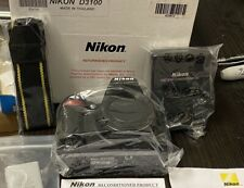 Nikon D3100 BLACK 14.2MP Digital SLR Camera- (KIT w/AF-S DX VR II 18-55mm Lens)