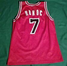NBA TONY KUKOC #7 CHICAGO BULLS CHAMPION JERSEY vintage 90 shirt maglia trikot