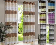 Striped Ready Made Curtains