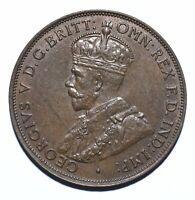 1936 Australia One 1 Penny - George V - Lot 736