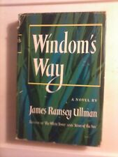 Windom's Way by James Ramsey Ullman 1952 Hardcover Good Condition