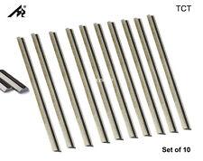 "Cuchillos De Carburo Cepilladora regruesadora 3-1/4"" Para Bosch, Ryobi, WEN 6530, Makita - 10 Paquete"