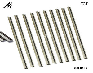 "3-1/4"" Carbide Planer planer knives For Bosch, Ryobi, WEN 6530, Makita - 10 Pack"