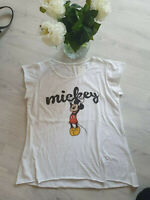 "MICKEY MOUSE💕T-SHIRT ""MICKEY"" 2💕 Gr.M/L paßt bei 40 - 46💕Farbe: Weiß 💕"