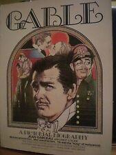 GABLE', A pictorial biografy, Jean Garceau, 1977.