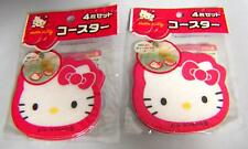 Hello Kitty ◆ Coaster set(4 Pieces) ×2