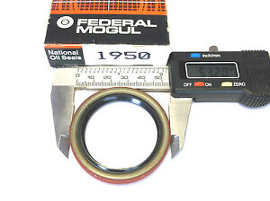 National 1950 Wheel Seal fits 1974-1987 Toyota Corolla Celica