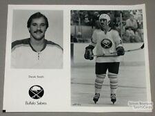 Original Late-70's Derek Smith Buffalo Sabres Photo