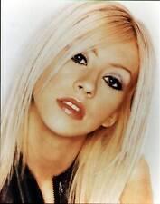 Christina Aguilera 8 X 10 Color Photograph