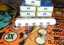 lot 50 ampoules #44 à culot  pour flipper pinball  6,3 Volts