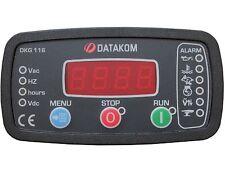 DATAKOM DKG-116 Manual do Gerador e Painel de Controle do Controle Remoto / Unid