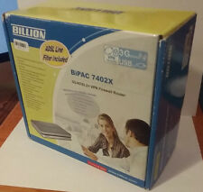 Billion BIPAC 7402X 3G/ADSL2/+ VPN Firewall Router ***BRAND NEW***