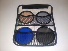 Tiffen 82mm filter kit comes with a total of four filters