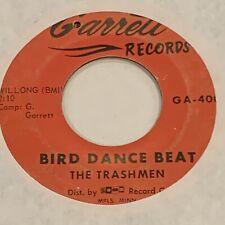 "SURF / PUNK THE TRASHMEN Bird Dance Beat / A-Bone GARRETT 7"" 45"