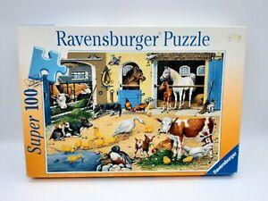 100 Pieces Super Puzzle - Am Stall - Ravensburger