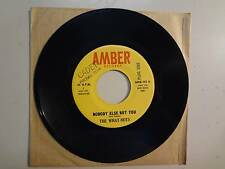 """WHAT- NOTS: Nobody Else But You 2:30-Look Down-U.S. 7"""" 66 Amber Records AMB-101"""