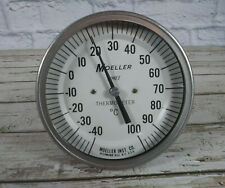 "New listing Moeller Inst. Co. Vintage Bimet Celsius Thermometer 4.25"" Diameter"