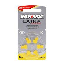 Batterie Ausrüstung Akustisch Rayovac Extra Fortgeschrittene- Modell: 10, PR70