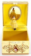 NEW Disney Parks Princess Music Box Beauty and Beast Belle Musical Jewelry Box