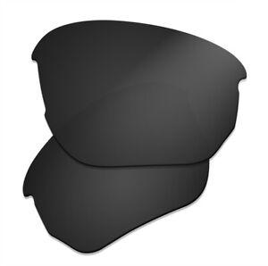 Polarized Lenses Replacement for Oakley Flak Beta OO9363 Sunglasses - Dark Black