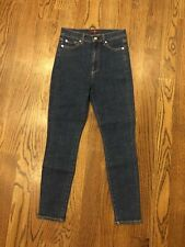 7 FOR ALL MANKIND - Aubrey High Waist Skinny Denim Chelsea Blue - 27 NWOT