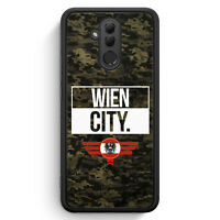 Wien City Camouflage Österreich Huawei Mate 20 Lite SILIKON Hülle Cover Austr...