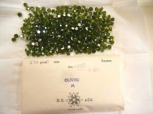 full package,360 swarovski 3/4 fire rocket crystal balls,6mm olivine #4860