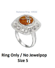 -NEW- Kameleon Radiance Ring  KR032 Sterling Silver 5