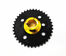Cnc Billet Alloy 40Mm Axle Sprocket Carrier With 38T #530 Pitch Sprocket Kit
