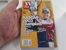 VINTAGE - TV GUIDE - 12/6/2003 - NASCAR 2003 CHAMPIONS - BRIAN VICKS - COVER