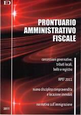 Prontuario Amministrativo fiscale -Edizioni D'Orazio- libro nuovo in offerta !!