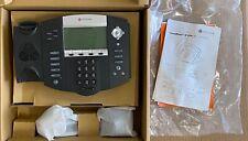 Lot Of 4 Polycom Ip 550 Desktop Business Digital Phone