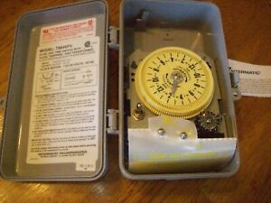 Intermatic Automatic Sprinkler Timer For City Water Model T8845PV 078275700741