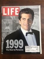 LIFE MAGAZINE The Year In Pictures 99 Jan 2000 Special Issue JFK JR HILLARY