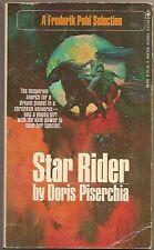 DORIS PISERCHIA Star Rider. 1st ed. A Frederik Pohl Selection.