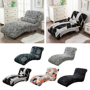 Stretch Chaise Lounge Cover Indoor Slipcover for Bedroom Chaise for Furniture