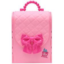 BBXW tragbares Puppehaus Rosa Handtasche Spielset für Kinder ab 3 Jahre alt L