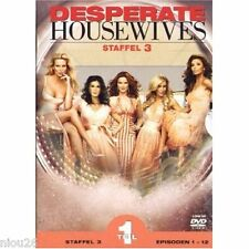 DVD coffret Desperate Housewives - Staffel 3, Teil 1 [3 DVDs]