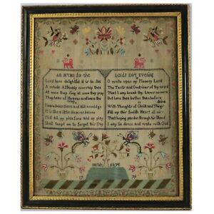 Antique Sampler, 1779, by Sarah Kaye