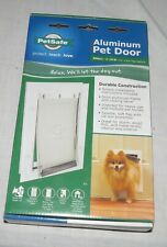 Petsafe Aluminum Pet Door - Small - 1-15 Pounds - 5.1/4 x 8.1/8 in Opening - NEW