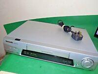 PANASONIC NV-FJ710 Video Cassette Recorder VHS VCR SUPER DRIVE Quality Silver