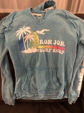 Womens Ron Jon Surf Hoodie Sweatshirt Cotton/Poly Pullover Small Myrtle Beach