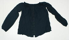 NEW Sample Rock & Republic Ladies Off the Shoulder Blouse Top Green 04312