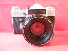 Zenit E Kamera Camera Lens Helios 44-2 2/58 M42 UdSSR CCCP