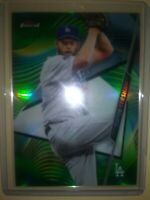 2020 Topps Finest Clayton Kershaw Green Refractor #89 (Los Angeles Dodgers) /99