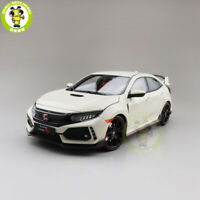 1/18 LCD Honda Civic Type-R Diecast Metal Model Car Toys Boys Girls Gifts