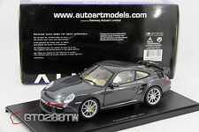 AUTOart 1:18 scale Porsche 911 GT2 Dark Grey Metallic (Type 997) MEGA RARE