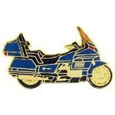 Metal Lapel Pin Automotive Emblem Biker Pin Motorcycle Blue New
